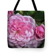 Pink Rose Petals Tote Bag