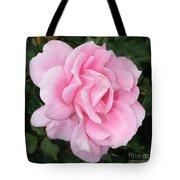 Pink Rose Square Tote Bag
