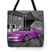 Pink Saab  Tote Bag