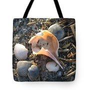 Pink Shell Bowl Tote Bag