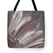 Pink Silver Tote Bag