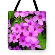 Pink Sorrel Tote Bag