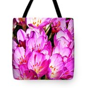 Pink Summer Blossoms Tote Bag