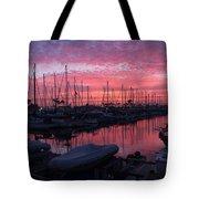 Pink Summer Sunset  Tote Bag