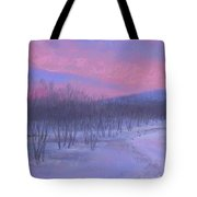 Pink Sunrise At Catfish Corner Tote Bag