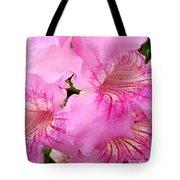 Pink Thunbergia Tote Bag