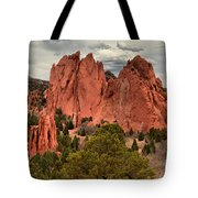 Pink Towers Of The Gods Tote Bag