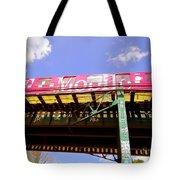 Pink Train Tote Bag
