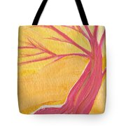 Pink Tree By Jrr Tote Bag