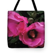 Pink Twins Tote Bag