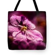 Pink Violet Glory Tote Bag