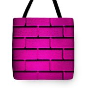 Pink Wall Tote Bag by Semmick Photo