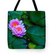 Pink Water Lilies - Lotus Tote Bag