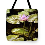 A Waterlily Reflection Tote Bag