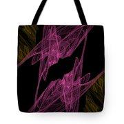 Pink Web Tote Bag