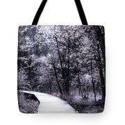 Pink Woodland Tote Bag