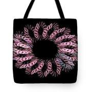 Pink Wreath Tote Bag