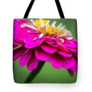 Pink Zinnia Tote Bag