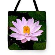 Pinkish Lotus Flower Tote Bag