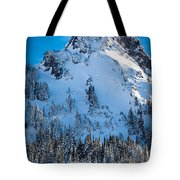 Pinnacle Peak Winter Glory Tote Bag