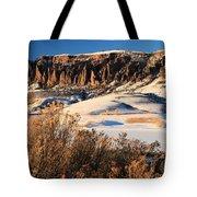 Pinnacles Sunset Tote Bag