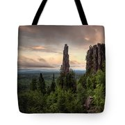 Pinnacles The Dorion Tower Tote Bag