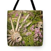Pioneer Blossoms - Casper Wyoming Tote Bag