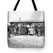 Pioneer Family Portrait Tote Bag