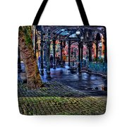 Pioneer Square In Seattle Tote Bag