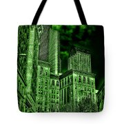 Pioneer Square In The Emerald City - Seattle Washington Tote Bag