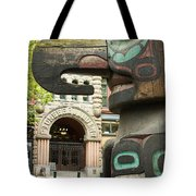 Pioneer Square Seattle Tote Bag