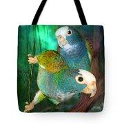 Pionus In Paradise Tote Bag