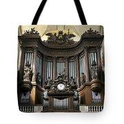 Pipe Organ In St Sulpice Tote Bag