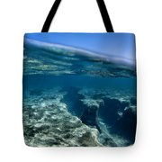 Pipe Reef. Tote Bag