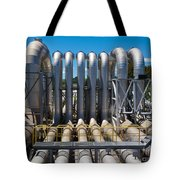 Pipeline Installation For Distribution And Supply Tote Bag