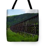 Pipeline Trestle Tote Bag