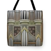 Pipes And Lattice Tote Bag