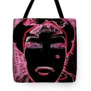 Pippas Pink Beauty Mark Tote Bag