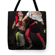 Pirate Couple 1 Tote Bag