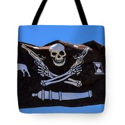 Pirate Flag With Skull And Pistols Tote Bag