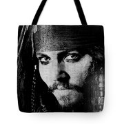 Pirate Life - Black And White Tote Bag