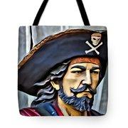 Pirate Man Tote Bag