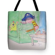 Pirate Poster For Kids Tote Bag