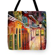 Pirates Alley By Night Tote Bag