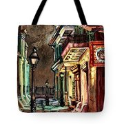 Pirate's Alley Evening Tote Bag