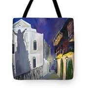 Pirate's Alley French Quarter Painting  Tote Bag