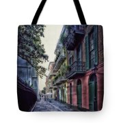 Pirate's Alley In New Orleans Tote Bag