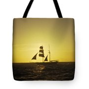 Pirates At Sea - Caribbean Tote Bag