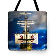 Pirates Tote Bag by Bob Orsillo