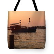 Pirates Of Lake Erie Tote Bag